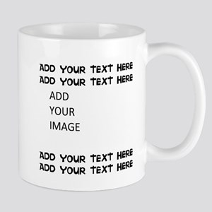 Custom Text And Image Mugs