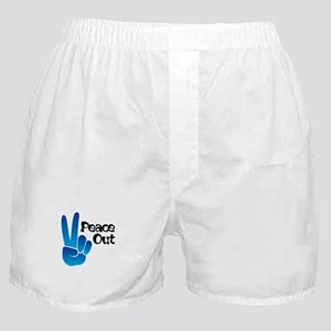 Peace Out Boxer Shorts