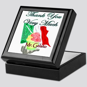 Thank You Very Much Mr. Gelat Keepsake Box