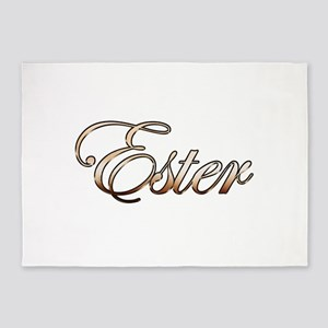 Gold Ester 5'x7'Area Rug