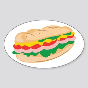 Sub Sandwich Sticker