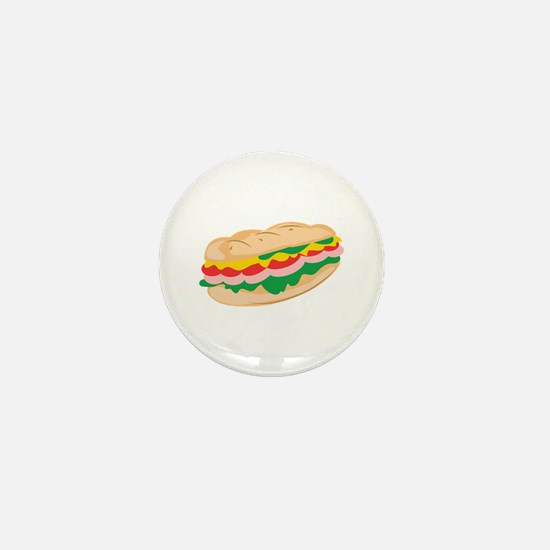Sub Sandwich Mini Button
