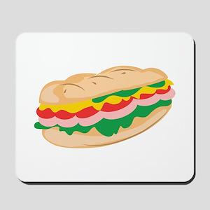 Sub Sandwich Mousepad
