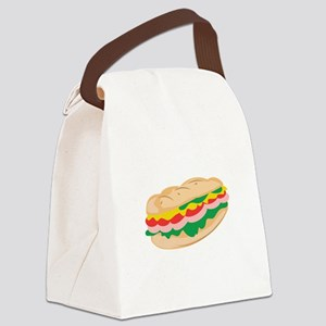 Sub Sandwich Canvas Lunch Bag