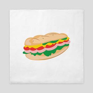 Sub Sandwich Queen Duvet