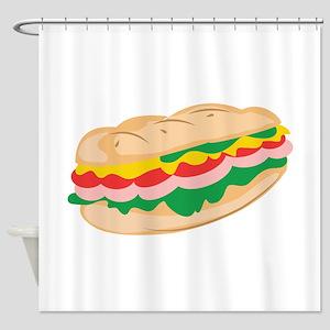 Sub Sandwich Shower Curtain