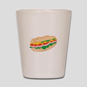 Sub Sandwich Shot Glass