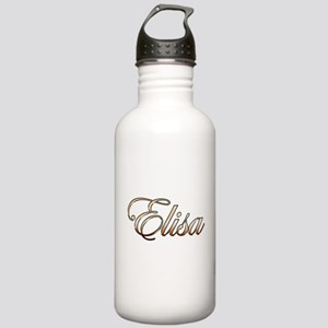Gold Elisa Stainless Water Bottle 1.0L
