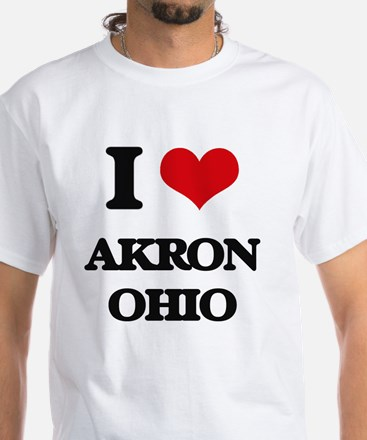 I love Akron Ohio T-Shirt