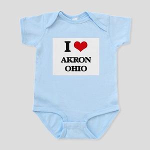 I love Akron Ohio Body Suit