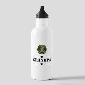 U.S. Army Grandpa Water Bottle