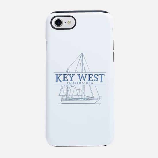Key West Sailboat iPhone 7 Tough Case