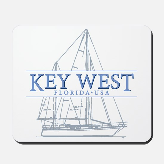 Key West Sailboat Mousepad