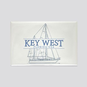 Key West Sailboat Magnets