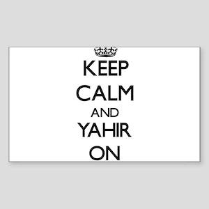 Keep Calm and Yahir ON Sticker