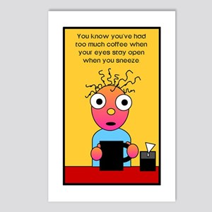 Coffee Lover's Postcards (Package of 8)