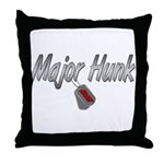 Army Major Hunk ver2  Throw Pillow