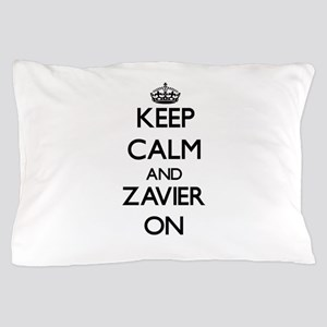 Keep Calm and Zavier ON Pillow Case
