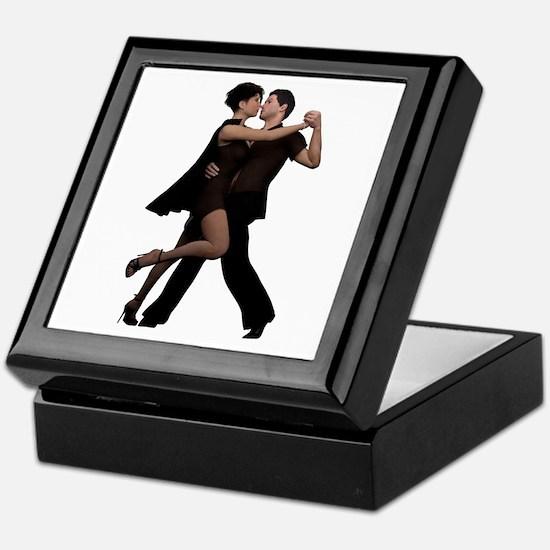 Dancers ~ Argentine Tango 2 Keepsake Box
