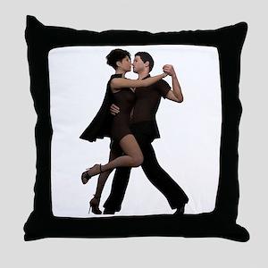 Dancers ~ Argentine Tango 2 Throw Pillow