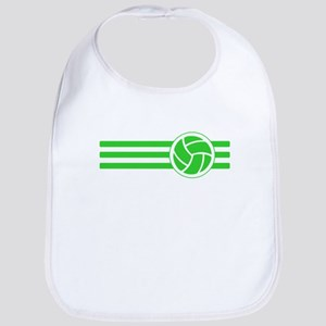 Volleyball Stripes (Green) Bib