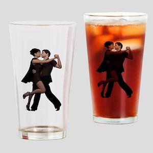 Dancers ~ Argentine Tango 2 Drinking Glass