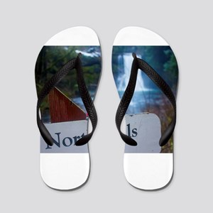 North Falls Gnome Flip Flops