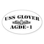 USS GLOVER Sticker (Oval)