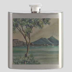 The Bay Of Naples Flask