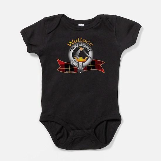Cute Blair clan crest tartan Baby Bodysuit