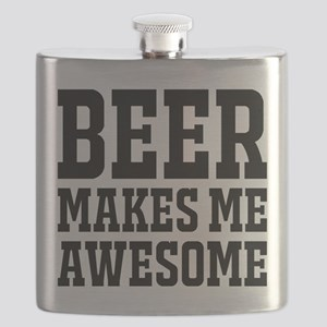 Beer makes me awesome Flask
