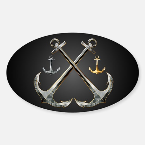 Shiny Anchors Decal