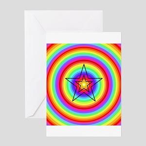 Star Prism Greeting Cards