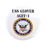 USS GLOVER Button