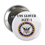 """USS GLOVER 2.25"""" Button"""