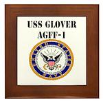 USS GLOVER Framed Tile