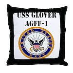 USS GLOVER Throw Pillow