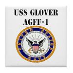 USS GLOVER Tile Coaster