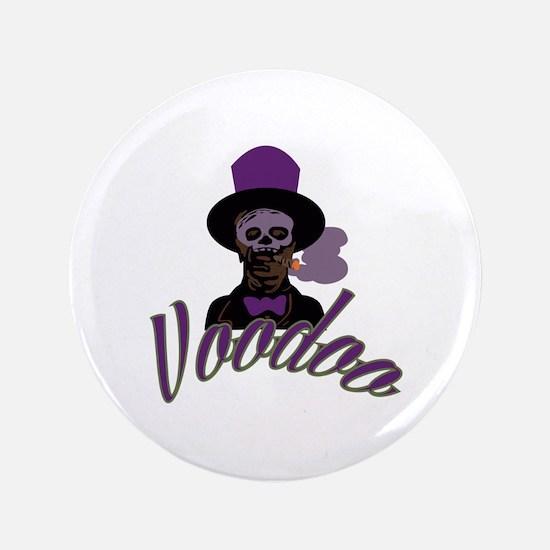 """Samedi Voodoo 3.5"""" Button"""