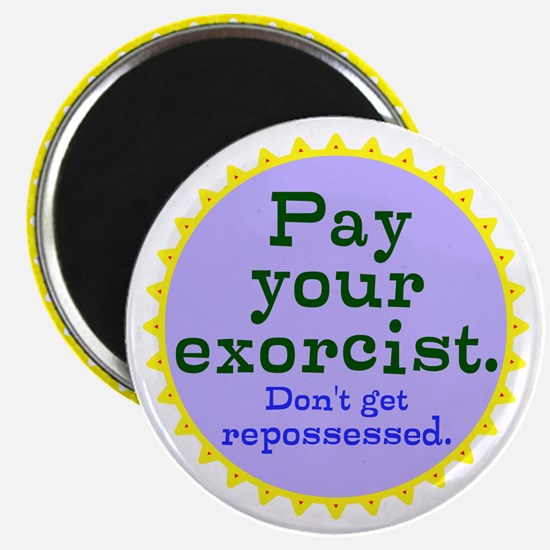 Excorcist Bill Magnets