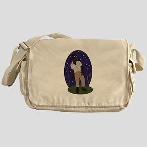 Voodoo Zombie Messenger Bag