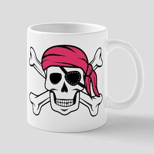 Pink Pirate Mug