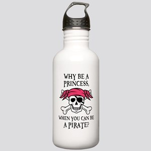 Pink Pirate Stainless Water Bottle 1.0L