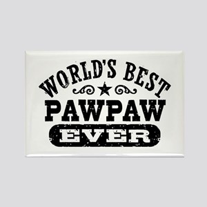 World's Best PawPaw Ever Rectangle Magnet