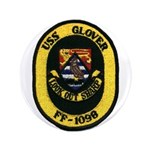 USS GLOVER Button