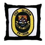 USS GLOVER Throw Pillow