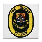 USS GLOVER Tile Coaster