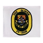 USS GLOVER Throw Blanket