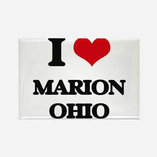 I love Marion Ohio Magnets