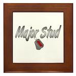 Army Major Stud ver2 Framed Tile